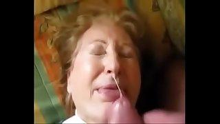 Granny get Facial and She..