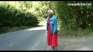 fuck young old car granny..