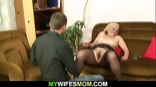 Hairy mother in law