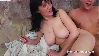 Busty Mother Fucking Son's..
