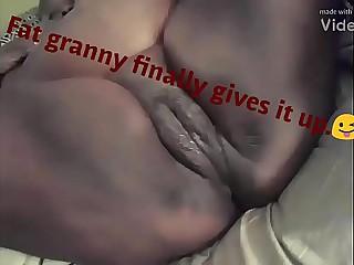 Black granny f*cked hard