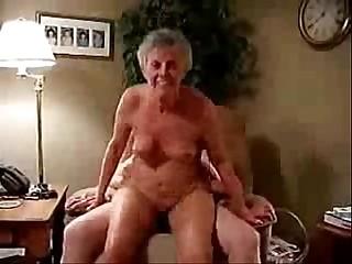 This horny granny still..
