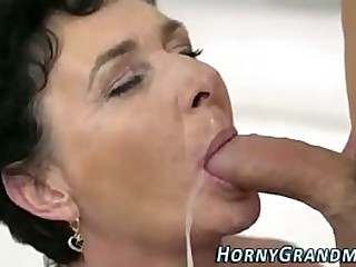 cum mouth granny compilation..