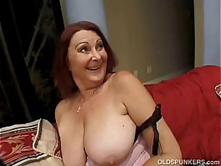 Redhead Granny With Some..