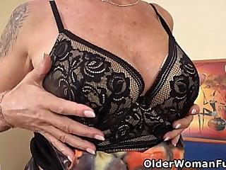 61-year-old Euro granny Inke..