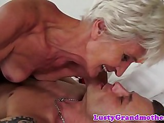 Older women getting creampied
