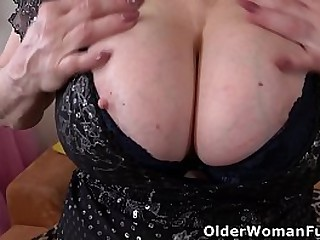 Sultry grandma Deborah from..