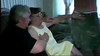 Share my mature granny wife..