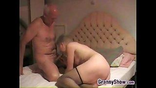 Grandma Giving Her Man A..